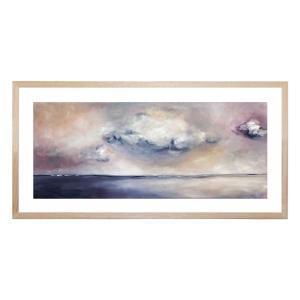 Matchstick Sky - Framed Print