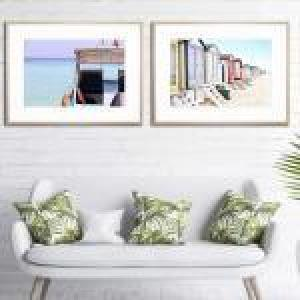 Beyond the Horizon / By the Bay - Framed Prints