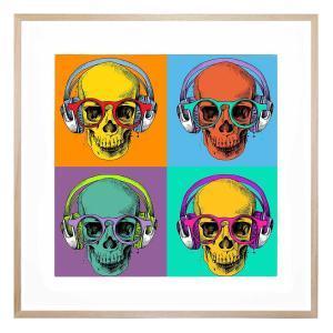 Hipster Pop - Framed Print