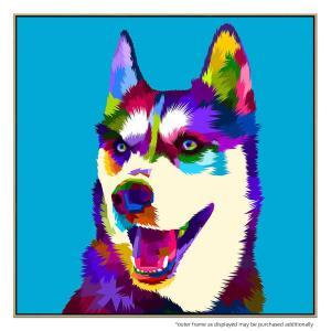 Husky - Canvas Print