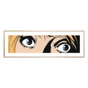 For My Eyes Only - Framed Print