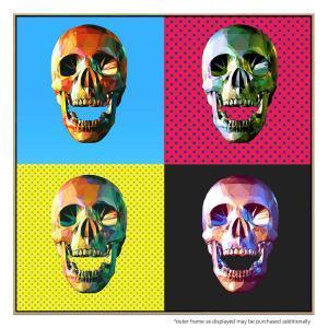 Pop Skulls - Canvas Print