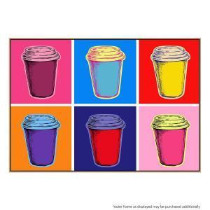 Pop Art Latte - Canvas Print