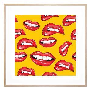 Smile Bright - Framed Print