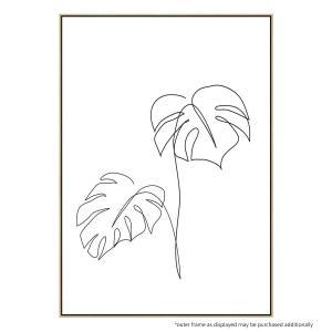 Monstera 2 - Canvas Print