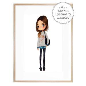 Lilliana - Framed Print