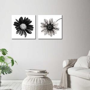 Gerbera Noir / Mono Fiore - Canvas Print
