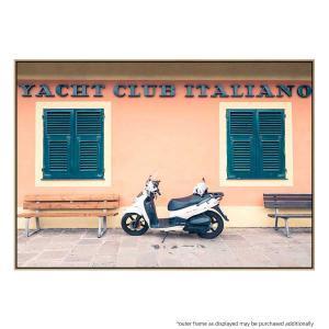 Italian Yacht Club - Canvas Print