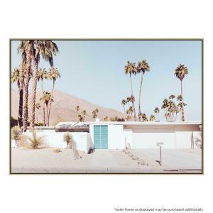 The Blue Door - Canvas Print