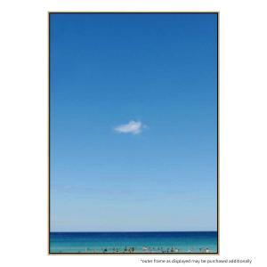 Blue On Blue - Canvas Print