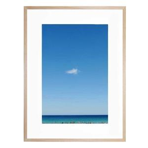 Blue On Blue - Framed Print