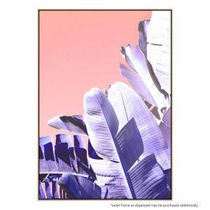Botanica Blush - Canvas Print