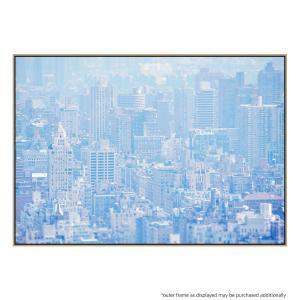 Concrete Jungle Blue - Canvas Print