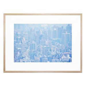 Concrete Jungle Blue - Framed Print