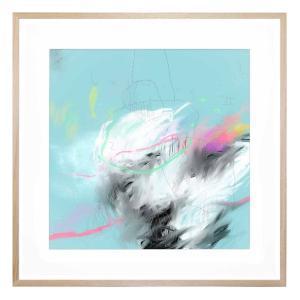 Burning II - Framed Print