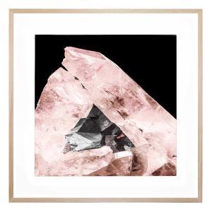 Blushing Gemstone - Framed Print