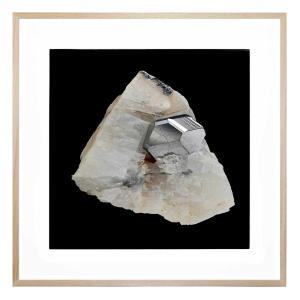 Chantilly Quartz - Framed Print