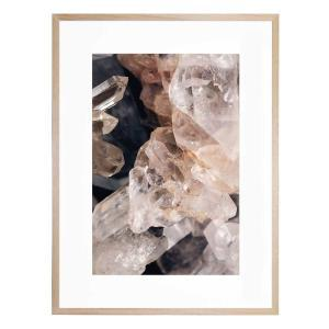 Crystal Cave - Framed Print