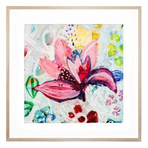 Reality Bloom - Framed Print