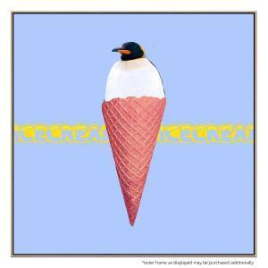 Ice Cream Penguin - Canvas Print