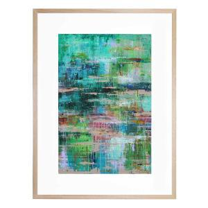 Canal Reflections - Framed Print