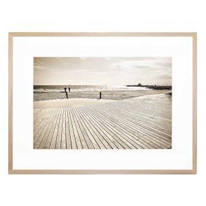 St Kilda Boardwalk - Framed Print