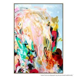 Bird Abstract - Canvas Print