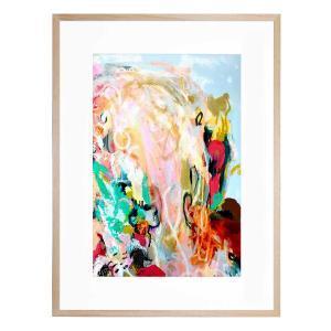 Bird Abstract - Framed Print