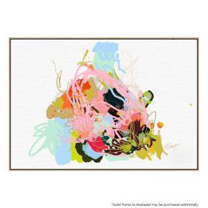 Eggplant Abstract - Canvas Print