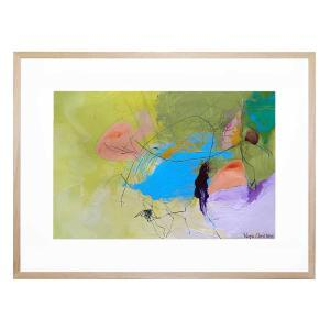 Jungle Abstract - Framed Print