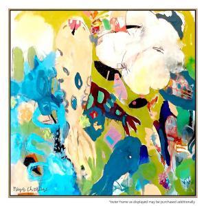 Koi Flowers - Canvas Print