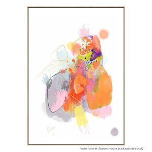 Lively Produce Patterns - Canvas Print