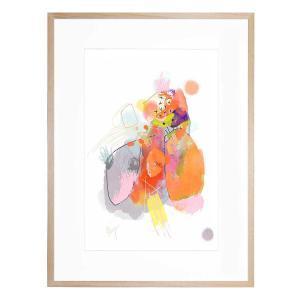Lively Produce Patterns - Framed Print