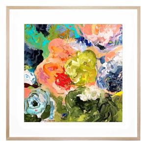 Nothing But Roses - Framed Print
