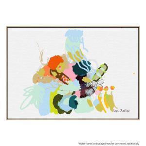 Sea Scribbles - Canvas Print