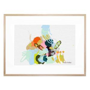 Sea Scribbles - Framed Print