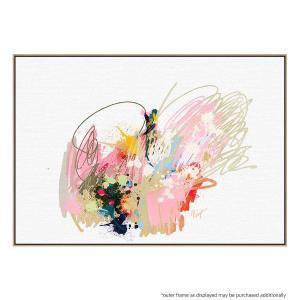 Splash Of Energy - Canvas Print