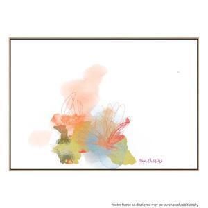 Wispy Flower - Canvas Print