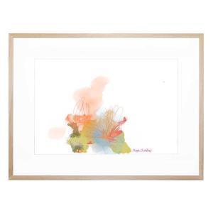 Wispy Flower - Framed Print