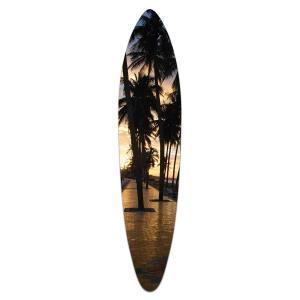 Sunset Palms - Acrylic Art