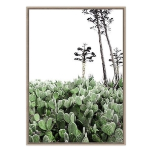 Cactus Bloom - Natural Frame - ONE ONLY
