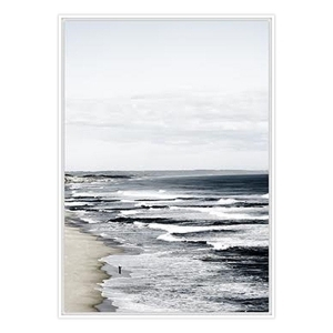 Down The Coast - White Frame - ONE ONLY