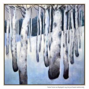 Winter Landscape - Painting