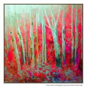 Forest and Spring - Painting