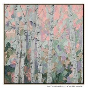 Pastel Forestine - Painting