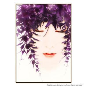 Bluish Purple-Azuto - Canvas Print