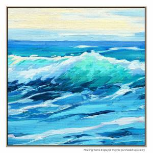 Rising Waves - Canvas Print