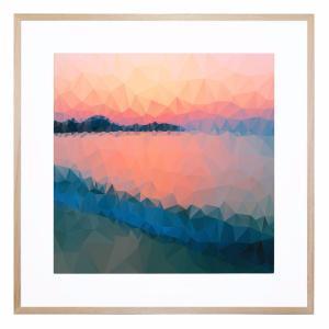 Glass Lake - Framed Print