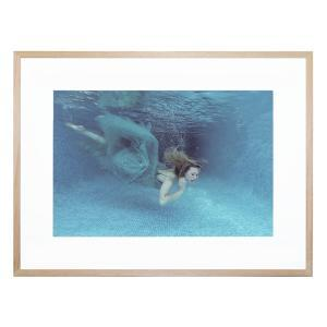 Beneath the Blue - Framed Print