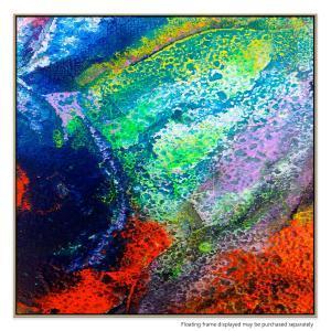 Coral Bloom - Canvas Print